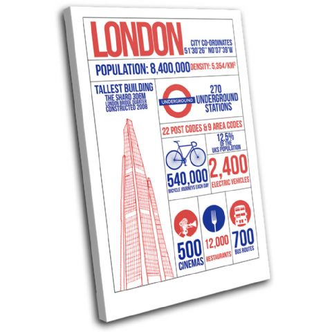 London Infographic Typography - 13-6085(00B)-SG32-PO